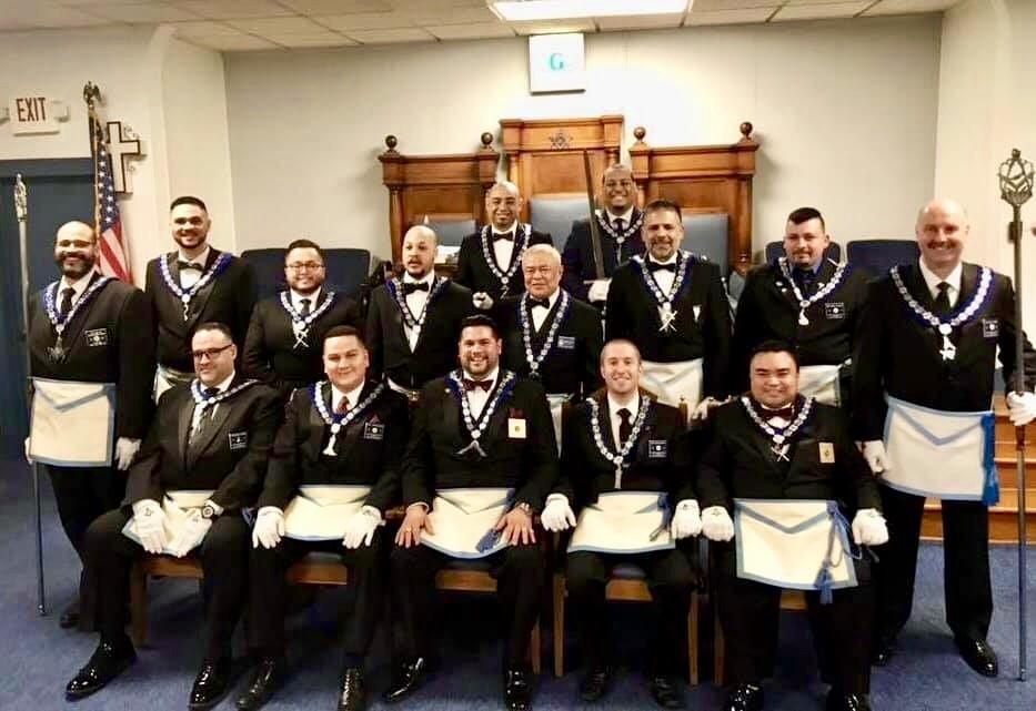 SH72 Officers of 2019 WM Luis G Diaz
